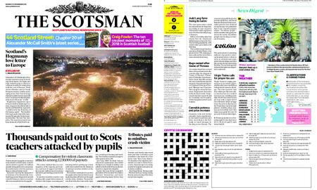 The Scotsman – December 31, 2018