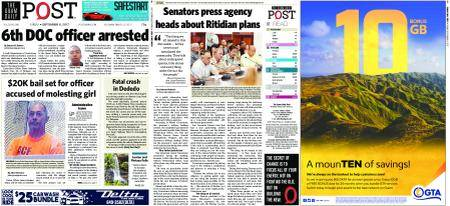 The Guam Daily Post – September 08, 2017