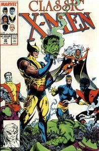 Classic X-Men 030 1989