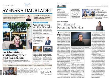 Svenska Dagbladet – 14 februari 2019