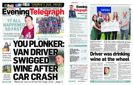 Evening Telegraph First Edition – July 23, 2019