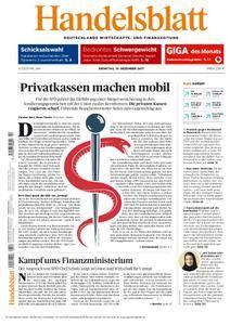 Handelsblatt - 19. Dezember 2017