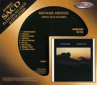 Michael Hedges - Aerial Boundaries (1984) {Audio Fidelity} [SACD Redbook Layer]