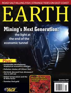 Earth Magazine - November 2009