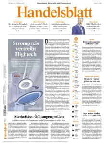 Handelsblatt - 23 Februar 2021