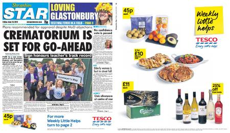 Shropshire Star Shrewsbury Edition – June 28, 2019