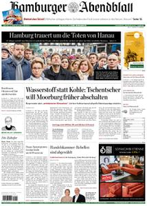 Hamburger Abendblatt – 21. Februar 2020