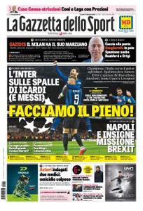 La Gazzetta dello Sport Roma – 11 dicembre 2018