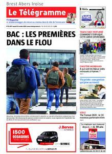 Le Télégramme Brest Abers Iroise – 19 octobre 2019