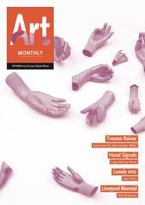 Art Monthly - September 2014   No 379