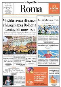 la Repubblica Roma - 12 Luglio 2020