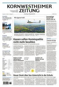 Kornwestheimer Zeitung - 13. September 2018