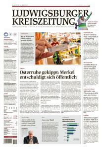 Ludwigsburger Kreiszeitung LKZ - 25 März 2021