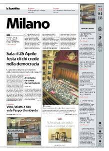 la Repubblica Milano - 24 Aprile 2018