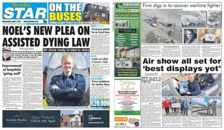 Shropshire Star Shrewsbury Edition – April 03, 2019