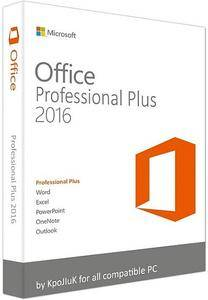 Microsoft Office 2016 Professional Plus + Visio Pro + Project Pro 16.0.4456.1003 (x86/x64)