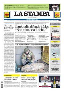 La Stampa Torino Provincia e Canavese - 1 Dicembre 2019