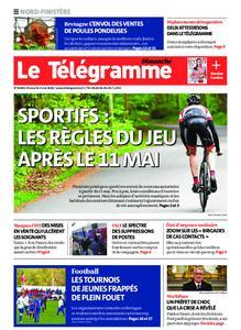 Le Télégramme Brest Abers Iroise – 03 mai 2020