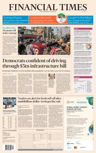 Financial Times Middle East - March 29, 2021