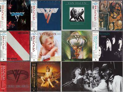 Van Halen - 10CD. Japanese Edition (1978 - 1995)