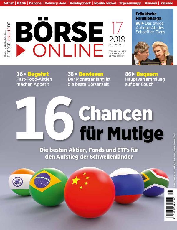 Börse Online – 25. April 2019