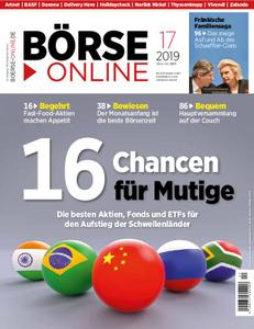 Börse Online – 25. April 2019