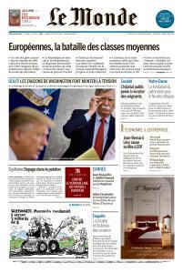 Le Monde du Jeudi 16 Mai 2019
