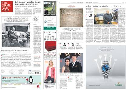 The Globe and Mail – March 15, 2018