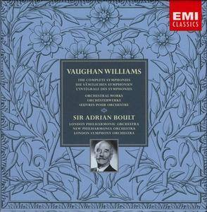 Ralph Vaughan Williams - The Complete Symphonies & Orchestral Works (2000) (8CD Box Set) (Repost)