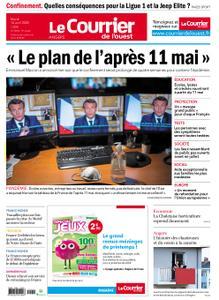 Le Courrier de l'Ouest Cholet – 14 avril 2020