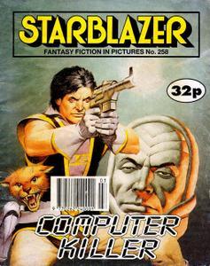 Starblazer 258-Computer Killer 1990 marque
