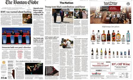 The Boston Globe – July 31, 2019
