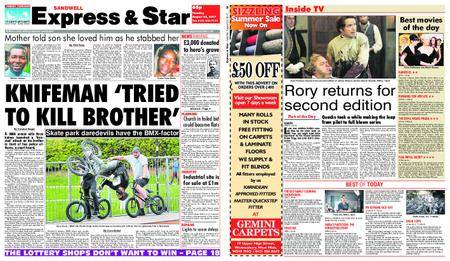 Express and Star Sandwell Edition – August 22, 2017