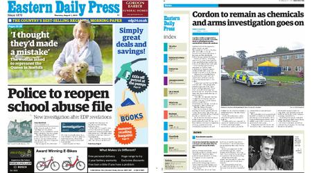 Eastern Daily Press – August 01, 2019