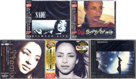 Sade: 5 Albums. Japanese Edition (1984 - 2002)