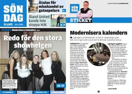 Ålandstidningen – 28 april 2019