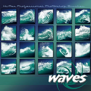 Rons waves brushes