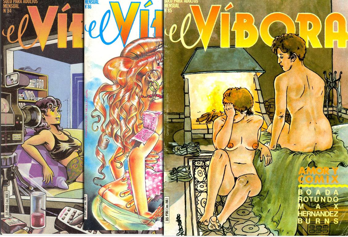 El Vibora #84-86 (1986-1987)
