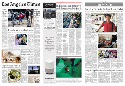 Los Angeles Times – August 27, 2019
