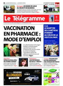 Le Télégramme Landerneau - Lesneven – 06 mars 2021
