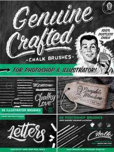 CreativeMarket - Genuine Crafted Chalk for PS & AI