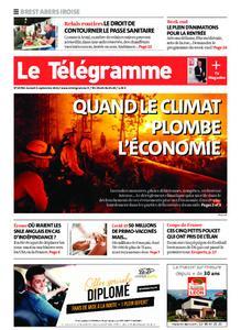 Le Télégramme Brest Abers Iroise – 04 septembre 2021