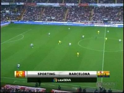 FC Barcalona Vs Sporting highlight