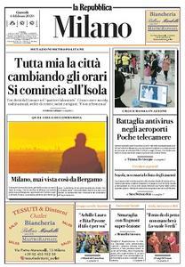 la Repubblica Milano - 6 Febbraio 2020