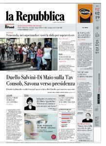 la Repubblica - 2 Febbraio 2019