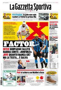 La Gazzetta dello Sport – 27 ottobre 2019