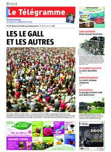 Le Télégramme Brest Abers Iroise – 19 mai 2019