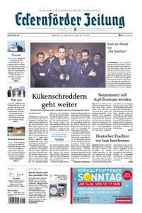 Eckernförder Zeitung - 14. Juni 2019