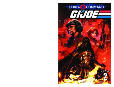 G I JOE Cobra Command Volume 2 July 2012 RETAiL COMiC CBZ iNTERNAL eBOOk