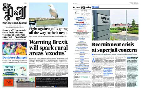 The Press and Journal Moray – March 19, 2019
